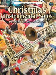 Christmas Instrumental Solos, Clarinet