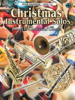 Christmas Instrumental Solos, Tenor Sax