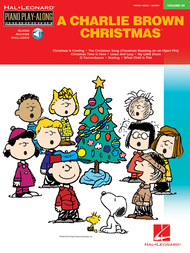 CharlieBrown Christmas Play-Along Piano Vol 34