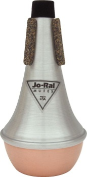 Jo Ral 35101c Jo-Ral Copper Bottom Straight Mute for Trumpet