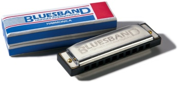 HH1501 Hohner Blues Band Harmonica (C)