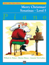 Alfred Basic Merry Christmas Level 5 Sonatinas