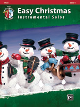 Easy Christmas Inst. Solos, Level 1- Flute