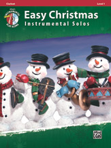Easy Christmas Inst. Solos, Level 1- Clarinet