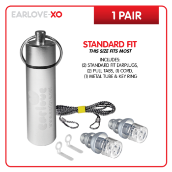 EXO Earlove XO Classic Ear Plugs