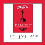 D'Addario J101012M Prelude Cello String Set 1/2