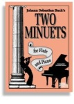 Bach's Two Minuets - Flute & Piano