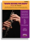 Know Before You Blow: Modes for Clarinet