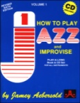 Vol 1 - How to Play Jazz w/CD JAV1 All Inst