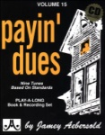 Vol 15 - Payin' Dues w/CD - JAV15