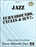 Vol 16 - Turnarounds, Cycles & II/V7s w/CDs - JAV16