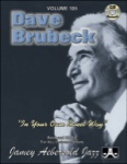 Vol 105 - Dave Brubeck In Your Own Sweet Way w/CD - JAV105