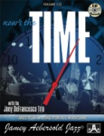 Vol 123 - Now's the Time: Standards w/Joey DeFrancesco Trio w/CD - JAV123