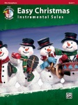 Easy Christmas Inst. Solos, Level 1- Alto Sax
