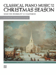 Classical Pno Music for the Christmas Season, Int/Adv