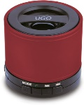 UGO 00129176 Bluetooth Wireless Mini Speaker - Red