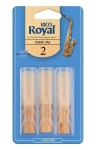 3ROTS25 Rico Royal Tenor Sax #2.5 - 3 pack